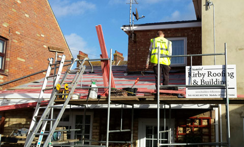 General Roofing In Folkestone Daniel Kirby Roofing And